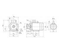 Электродвигатель АД 180 M8 15 кВт. 750 об/мин
