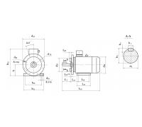 Электродвигатель АД 200 L2 45 кВт. 3000 об/мин
