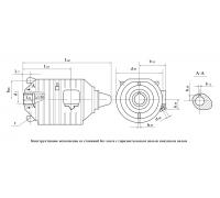 Электродвигатель АРМК2П 42-6 0,15||1,1||1,1 кВт. 130||945||1890 об/мин