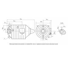 Электродвигатель АРМК2П 43-6 0,22||1,5||1,5 кВт. 140||950||1890 об/мин