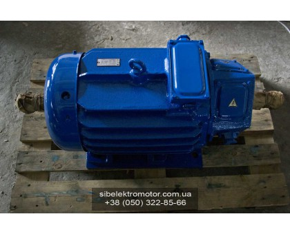 Электродвигатель  MTH 412-6 30 кВт. 960 об/мин производитель Сибэлектромотор